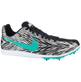 Nike Womens Zoom Rival D 8 Track and Field Shoe - Black/White/Turquise | DICKS Sporting Goods