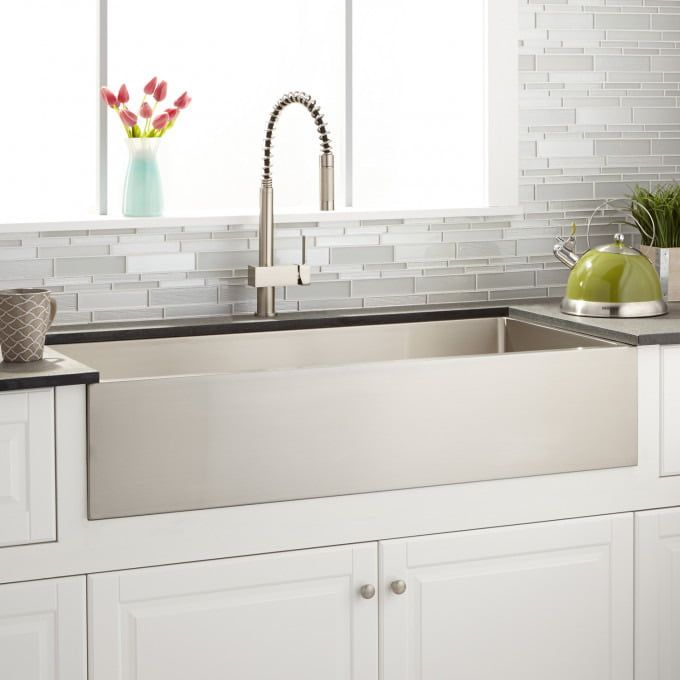 42 Atwood Stainless Steel Farmhouse Sink Stainless Steel