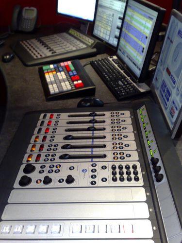 The NME Radio studio by TheNotQuiteFool, via Flickr