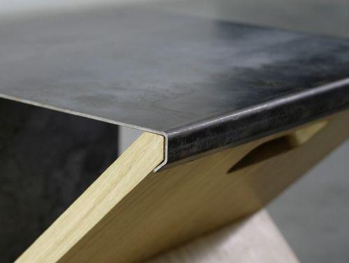 Steel Stool By Noon Studio