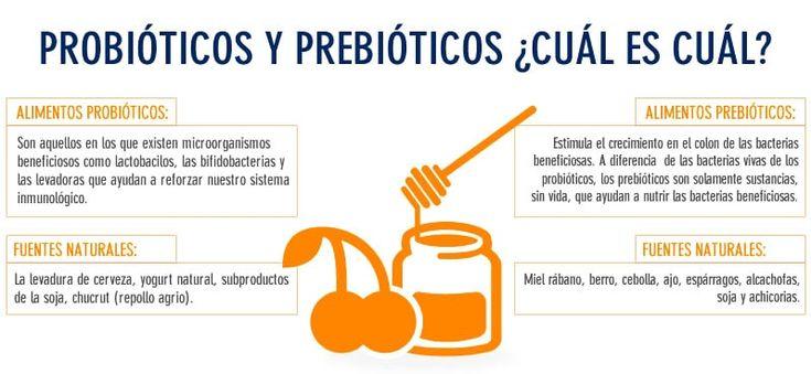 Fortalece tus defensas con prebióticos y probióticos
