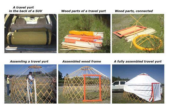 Portable Mongolian Camping Yurt and TentMongol by Mongolianstore