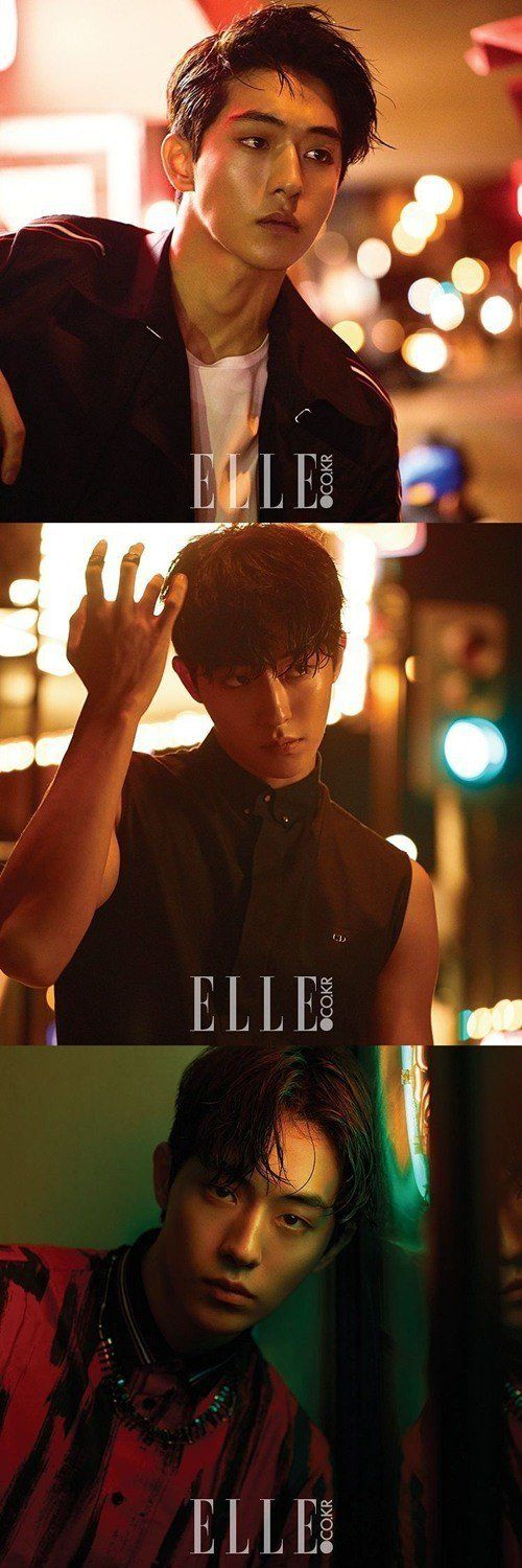 Nam Joo Hyuk demonstrates his powerful charisma in b-cuts for 'Elle' | allkpop.com