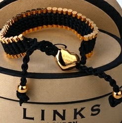 Links of London Friendship Bracelet; I got the same one in a different color at a vintage shop not knowing it was Links. AH!