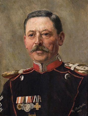 Hauptfeldwebel des 5 Ulanenregiments Düsseldorf by Theodor Rocholl