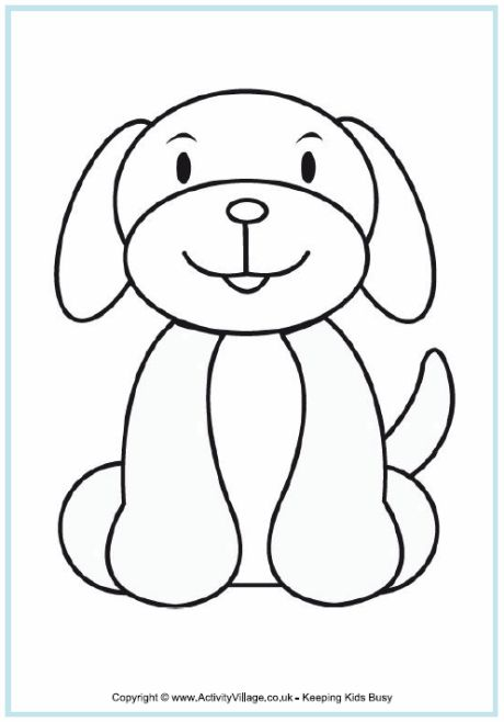 find this pin and more on crafting with kids by louisemhilton dogs pictures for colouring