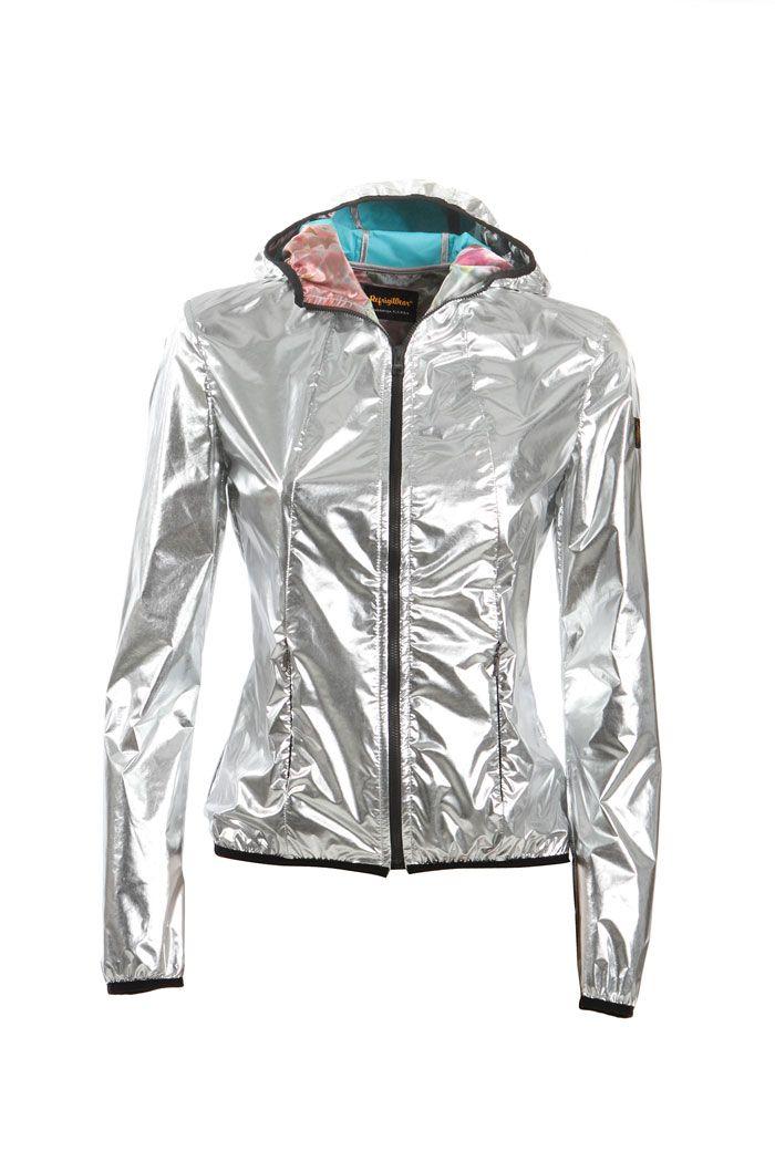 CHRYSTIE SILVER JACKET - Woman - Refrigiwear