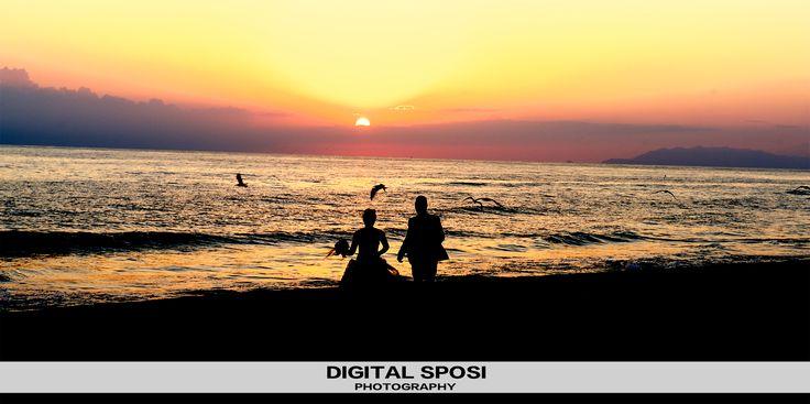 Servizio Fotografico al Mare by #digitalsposi  www.digitalsposi.com