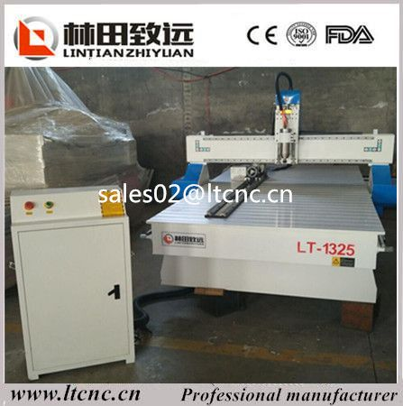 Discount price! China Jinan rotary axis 3d 1325 wood cnc router/wood cnc carving machine for sale#carving machine