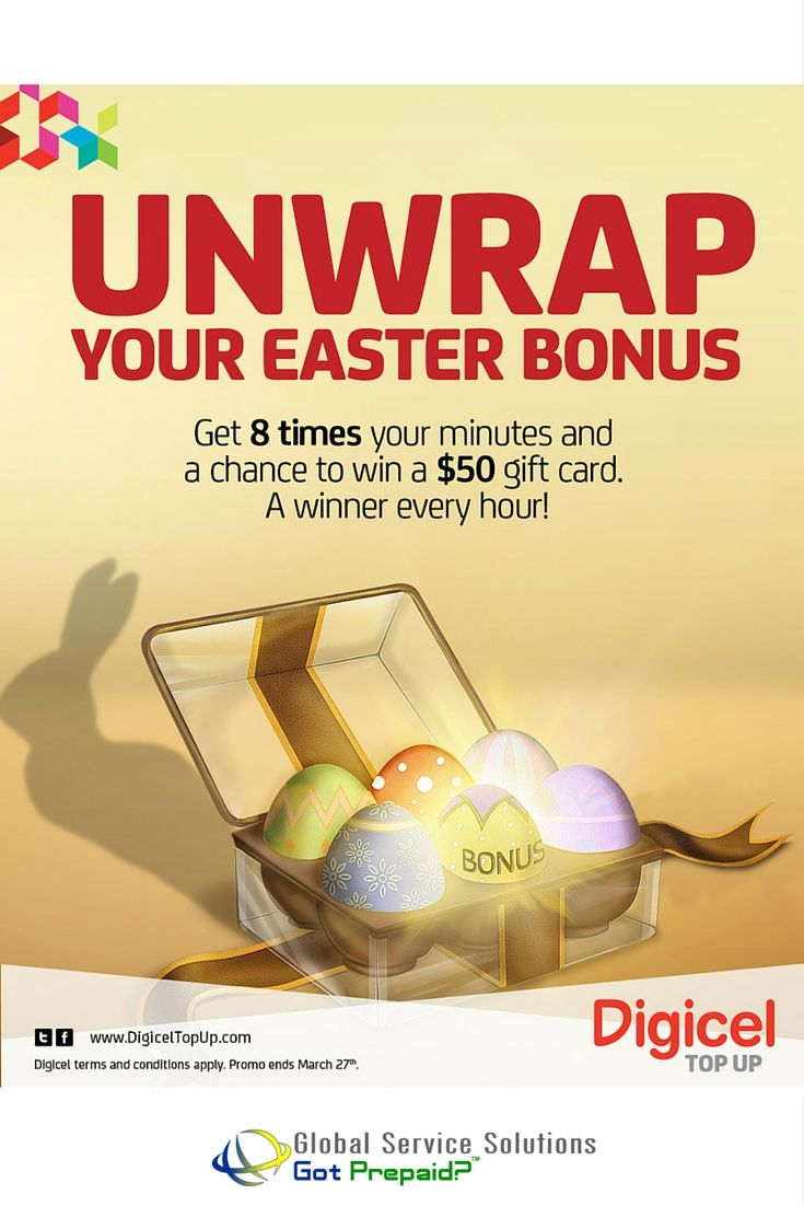 Celebrate Easter Weekend with #DIGICEL HAITI's 8x BUBBLE OFFER and CASH GIVEAWAY! March 26th - 27th