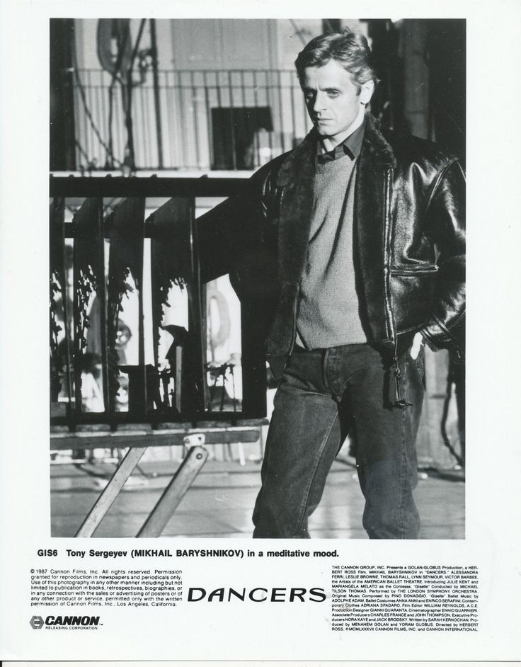 279 best Baryshnikov in movies images on Pinterest ...