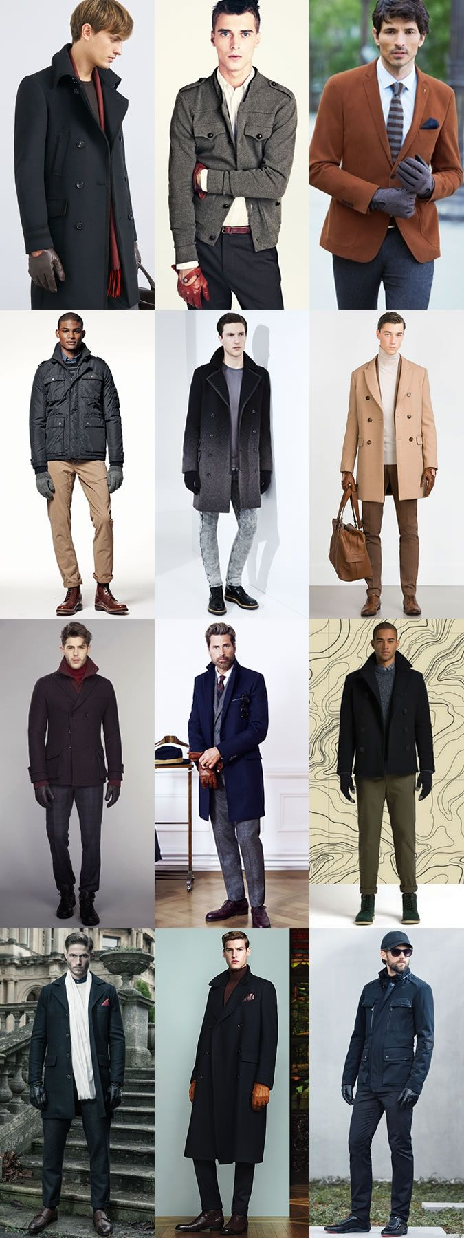 Men's Fashion Autumn Winter