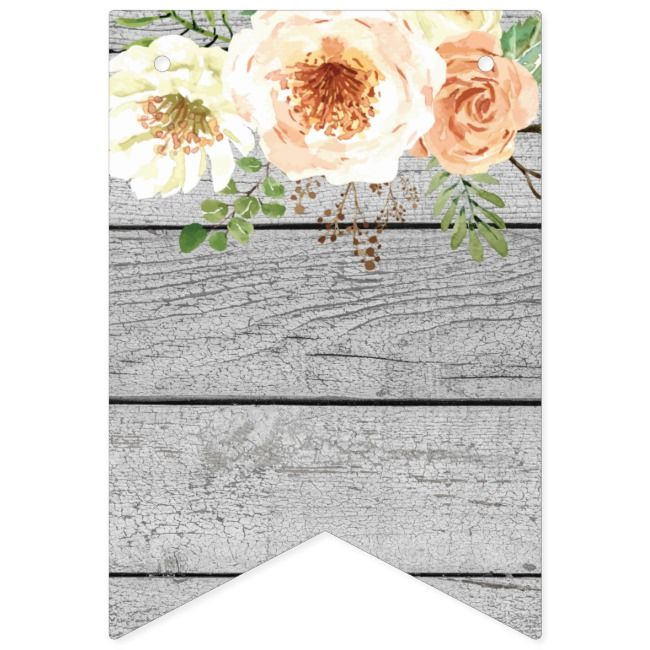 Vintage Rose Bunting DIY Bunting Congrats Flower Boho Bunting Birthday Bunting Wedding Bunting Printable Floral Party Flags