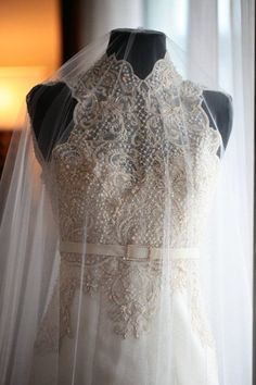 Ornate Hand Embroidery And Beadwork Gown Material Made Of Pineapple Yes Silk Philippine Wedding
