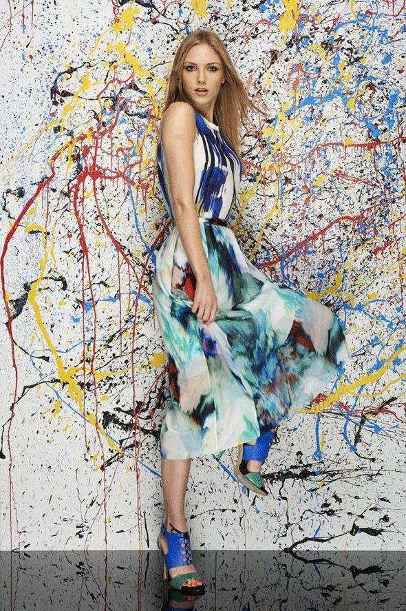 Top 20 des Robes Arty, quand Couture rime avec Peinture   Amylee