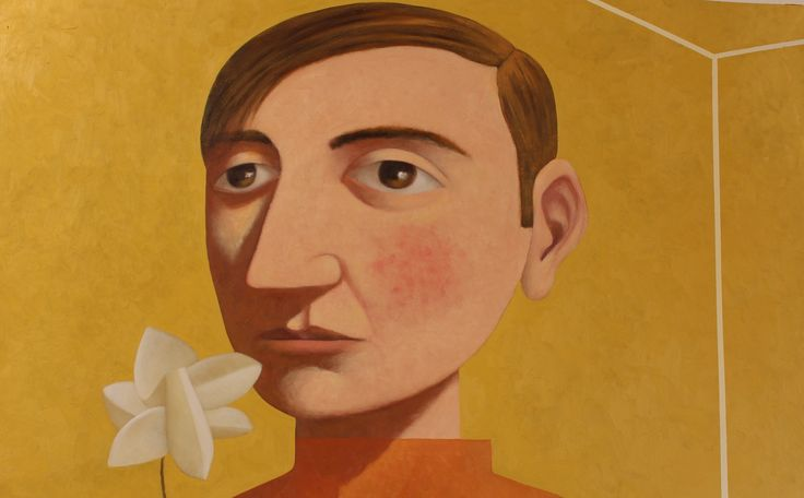 """""""Man with Flower"""" by Kent McCormack"""