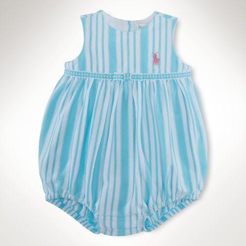 Ralph Lauren Striped Cotton Shortall
