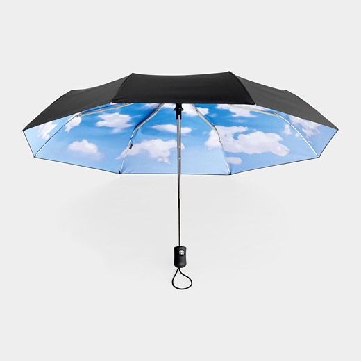 Nice idea I want this umbrella !