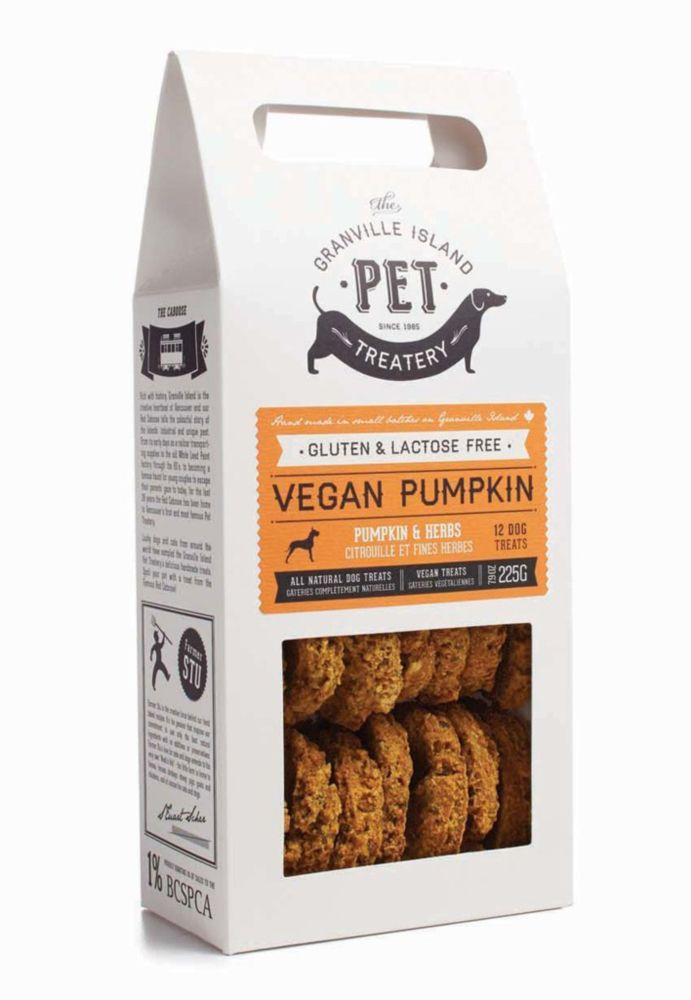 новый дизайн упаковки печенья для собак Granville Island Pet Treatery
