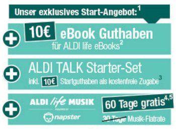 "Aldi Life eBook: Start am 20. Oktober mit 3G-Tablet Medion E6912 für 129 Euro https://www.discountfan.de/artikel/tablets_und_handys/aldi-life-ebook-start-am-20-oktober-mit-3g-tablet-medion-e6912-fuer-129-euro.php Aldi wird zum eBook-Händler: Am 20. Oktober 2016 fällt der Startschuss für ""Aldi Life eBooks"". Zeitgleich wird ein 3G-Tablet mit eBook-Funktion und zehn Euro Guthaben für 129 Euro verkauft. Aldi Life eBook: Start am 20. Oktober mit 3G-Tablet Medion"