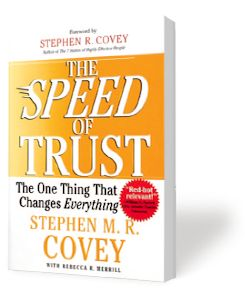Speed of Trust™ Book Summary | Speed of Trust - FranklinCovey - suggested work read.