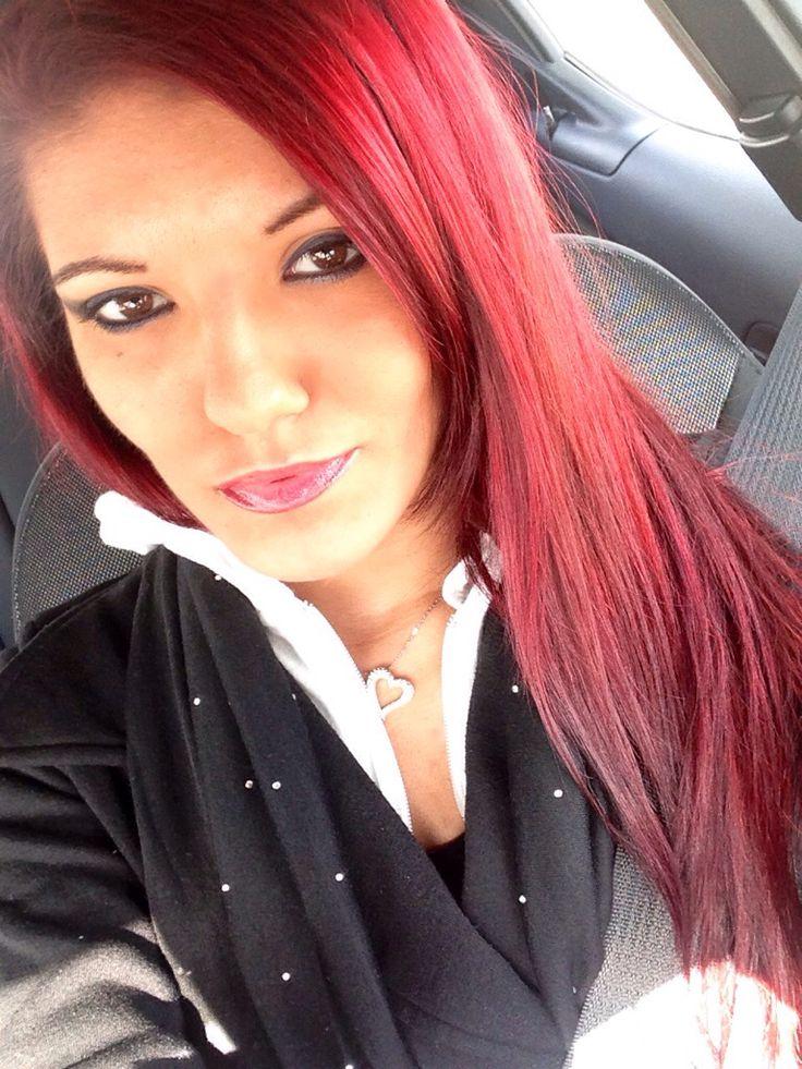 splat hair color crimson obsession