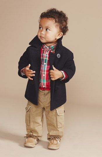Ralph Lauren Shirt & Pants Set (Baby Boys) | Nordstrom
