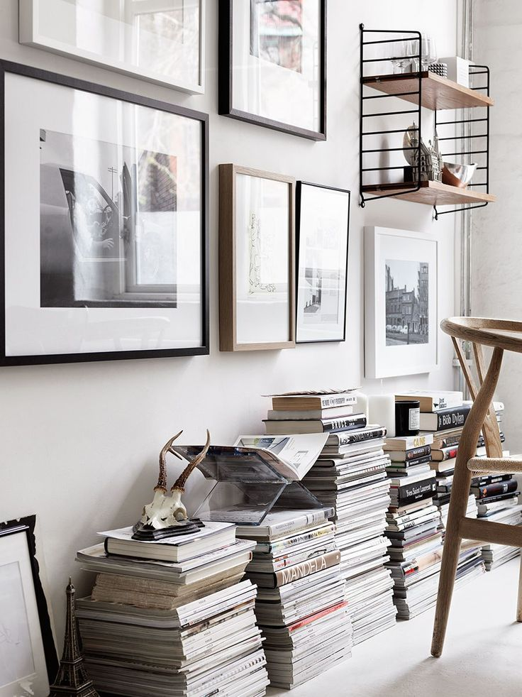 String Pocket by Nils Strinning from String Furniture and Wishbone chair by Hans J. Wegner From Carl Hansen & Søn | SE5
