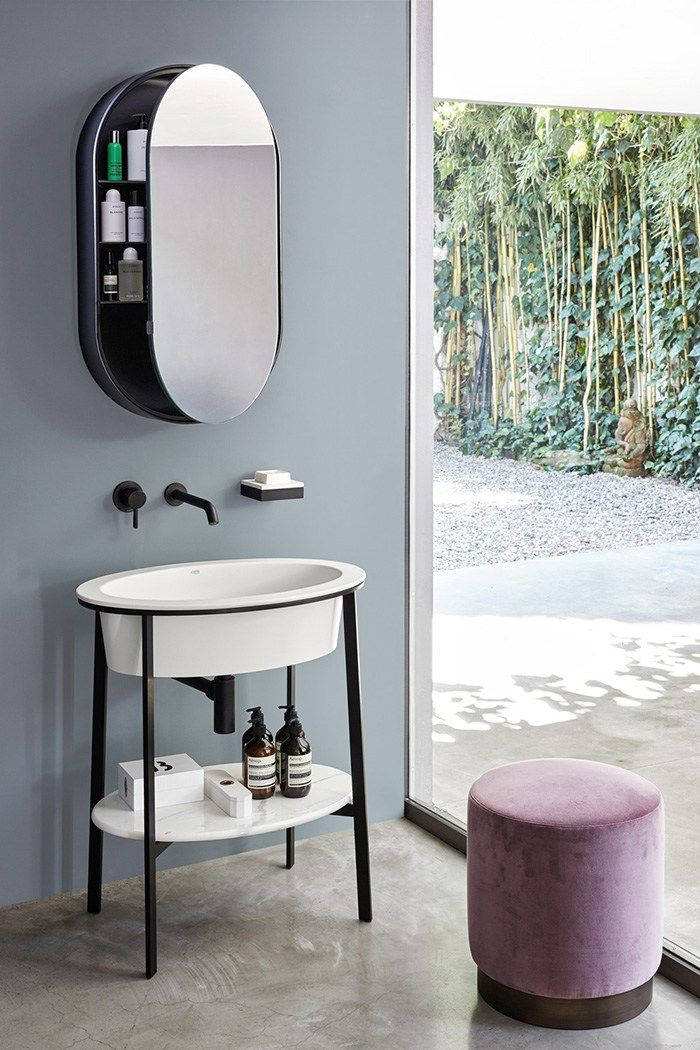 Bathroom Mirror Unit best 25+ oval bathroom mirror ideas on pinterest | half bath