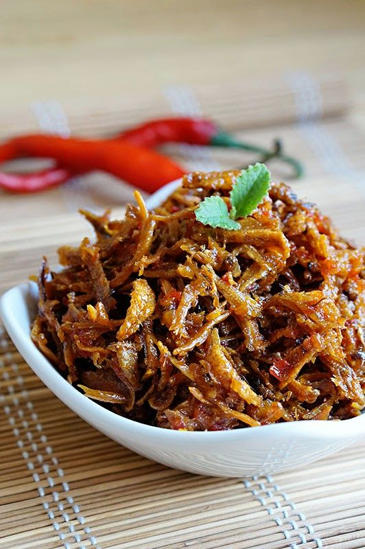 Little Inbox Recipe ~Eating Pleasure~: Crispy Anchovies In Spicy, Sweet and Sour Sauce