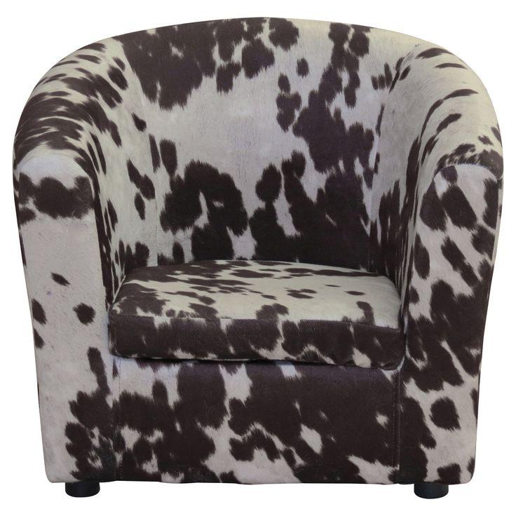 Hatton Kids Lounge Chair - Cowboy Brown