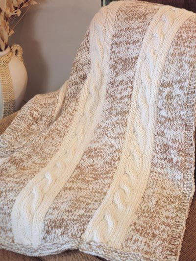 Knitted Afghan Patterns With Big Needles : 1000+ ideas about Knitted Afghan Patterns on Pinterest Knitted blankets, Kn...