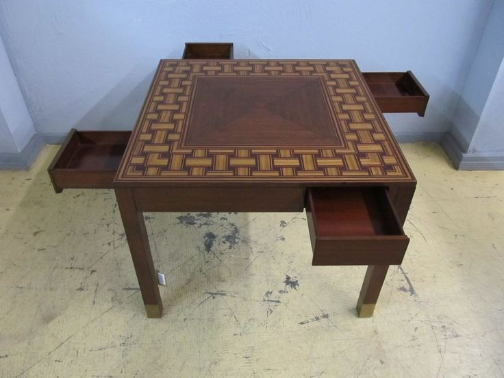 Maitland-Smith Game Table | Home & Garden, Furniture, Tables | eBay!