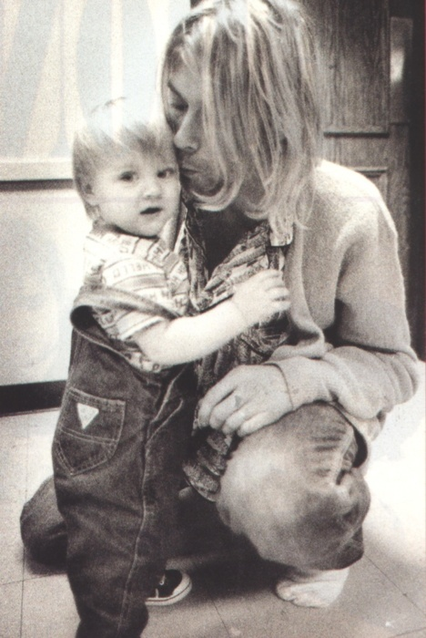Frances Bean & Kurt Cobain
