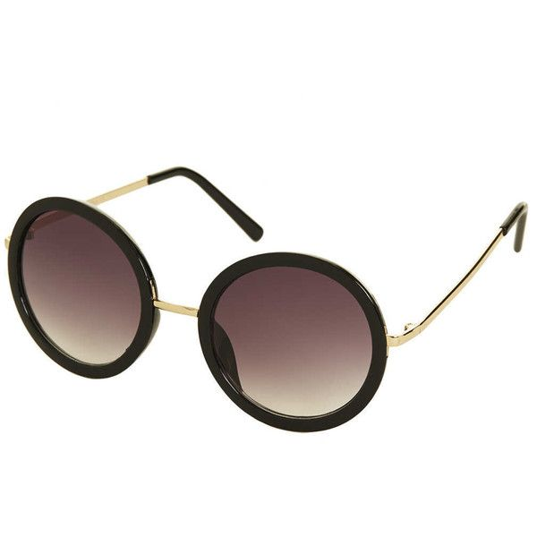 TOPSHOP 60s Oval Sunglasses (421.360 IDR) ❤ liked on Polyvore featuring accessories, eyewear, sunglasses, glasses, topshop, black, oval sunglasses, oversized oval sunglasses, over sized sunglasses and topshop sunglasses