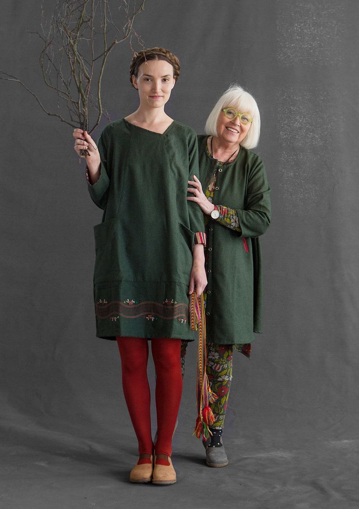 """""""Ebba"""" dress in wool – New arrivals – GUDRUN SJÖDÉN – Webshop, mail order and boutiques   Colorful clothes and home textiles in natural materials."""