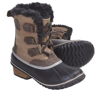 These ones!! Sorel Slimpack Pac Boots - Waterproof, Insulated (For Women)