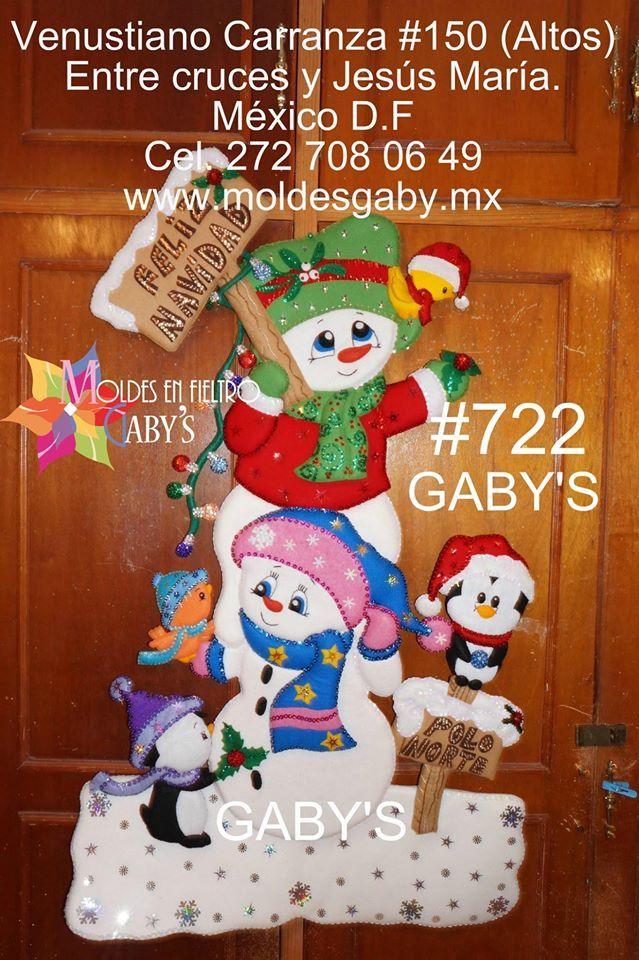 muñecos de nieve 722