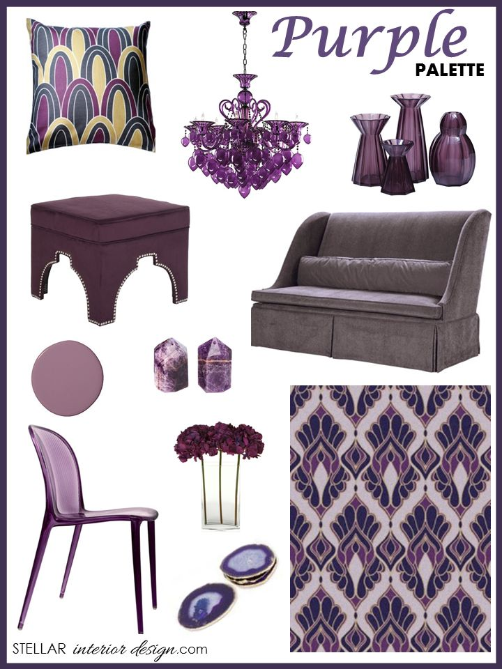 Ordinaire Interior Design Boards, Purple, Amethyst, Online Interior Design Services,  E Design