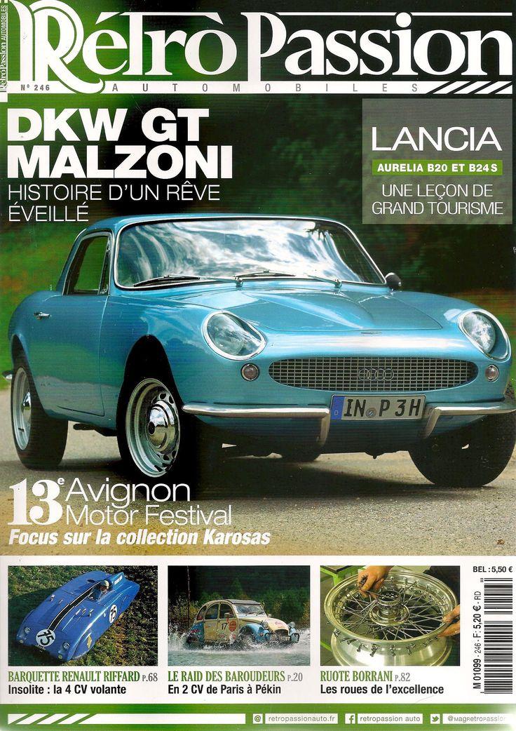 Carlos Santos in Retro Passion Automobiles magazine.