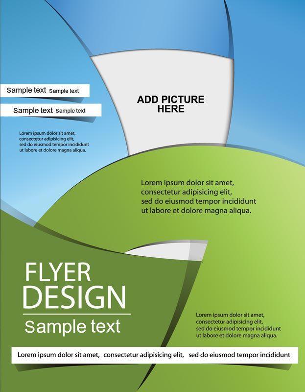 Creative brochure covers vector design