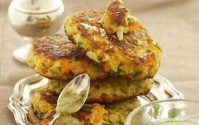 Μπιφτέκια λαχανικών - iCookGreek