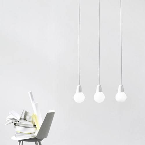 Inspired by the classic incandescent bulb, the Bulb Fiction Pendant Light unites socket and bulb into one iconic shape while trending forward with a low energy light source. http://www.ylighting.com/blog/brand-spotlight-lightyears/