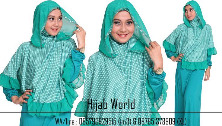 Jilbab Instan Syar'i Shifon HD-SF