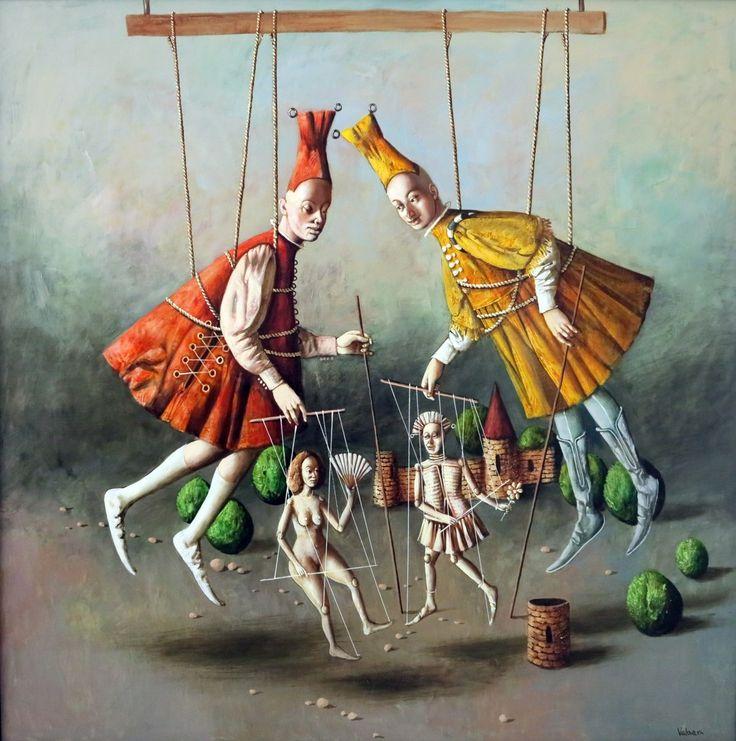 "Vahram Davtian, ""Puppeteer"" / ""Kuklacı"", 2015, Galeri 77"