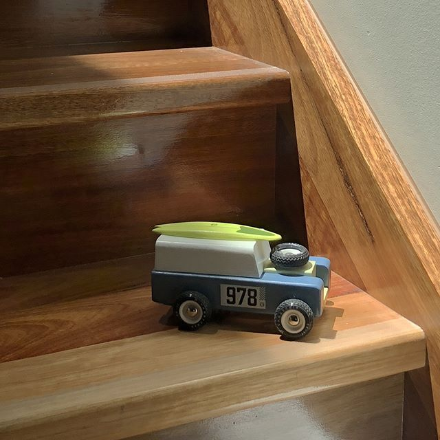 He's the Drifter.  We love toys that look good anywhere. NOTE: please don't leave your toys on the stairs! www.lucaslovescars.com.au #lucaslovescars #joyofthetoy #pickupyourtoys #candylab #playmatters #thelittlethings #childhoodmemories#childhoodunplugged #childhood #afterpayit #zippay  #playandlearn#toddlerplay #toddleractivities#toddleractivity #toysforboys #dad #mum #dadlife #mumslife #instashopping #shopinstagram #mytinymoments #magicalchildhood  #australian #smallbusiness