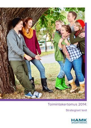 Hämeen ammattikorkeakoulun toimintakertomus 2014