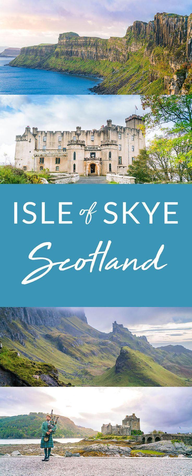 Learn all about the beautiful, mystical Isle of Skye in Scotland. If you're heading to Scotland don't skip the Isle of Skye! #scotland