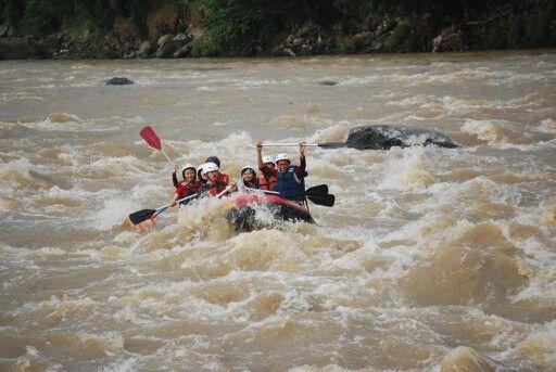Charokee Arum Jeram, Sukabumi Jawa Barat. 30/3/2014.