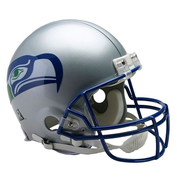 Riddell Seattle Seahawks VSR4 Throwback 1983-2001 Full-Size Authentic Football Helmet - $299.99